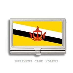 Brunei Bruneiana Flag Business Card Holder Case