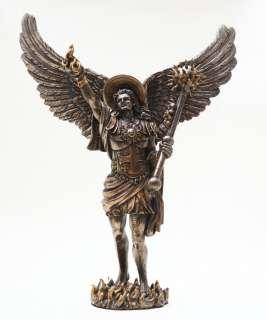 SAINT URIEL ARCHANGEL STATUE LIGHT OF GOD CHERUB ANGEL OF REPENTANCE