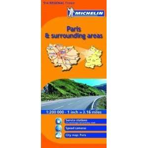 : France, 514) (9782067135222): Michelin Cartes et Plans: Books