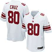 Youth Nike New York Giants Victor Cruz Game White Jersey (S XL