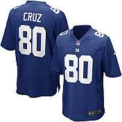 Mens Nike New York Giants Victor Cruz Game Team Color Jersey