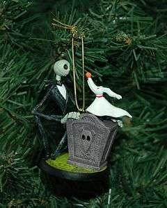 Before Christmas, Jack Skellington, Zero Halloween, Christmas Ornamet