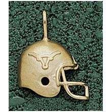 Logo Art Texas Longhorns 10K Gold Helmet Pendant