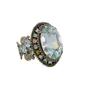 Vintage Crystal Cocktail Ring Sorrelli Jewelry