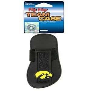 Iowa Hawkeyes Cell Phone Molded Logo Team Case Flip Flop