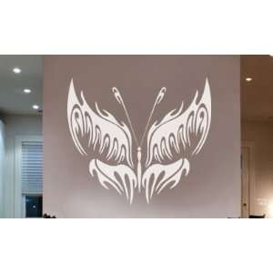 Vinyl Wall Art Decal Sticker Butterfly Tribal 38 X 43