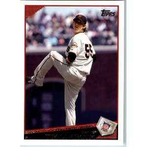 2009 Topps Baseball # 78 Tim Lincecum San Francisco Giants   Shipped
