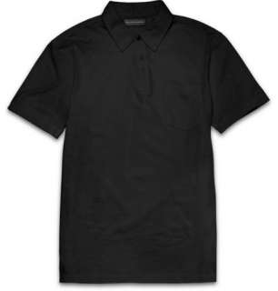 Ralph Lauren Black Label Slim Fit Cotton Polo Shirt  MR PORTER