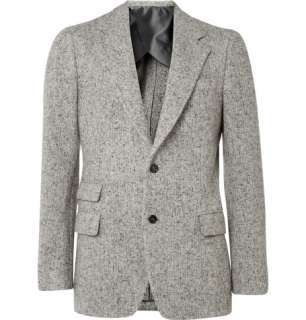 Blazers  Single breasted  Heavyweight Merino Wool Blend Blazer