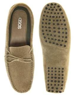 ASOS  ASOS Suede Driving Shoes at ASOS