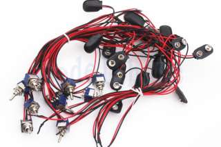 9V Off 18V Guitar Wiring Harness Kit for EMG Active Pickups