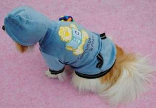 Cute Dog Puppy Pet Lovely Coat Apparel Costume Clothing