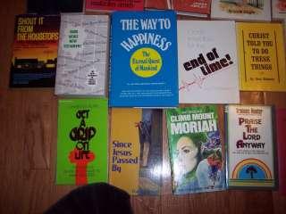 421 Christian books FAITH Teaching Vintage OOP Sermons Ministry church