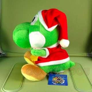 Super Mario Brothers YOSHI Xmas Plush Doll Figure Toy