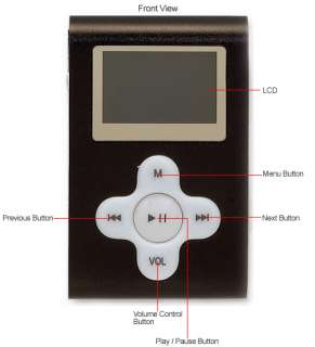 Delstar DS 1703 1 GB  Player Black Still Works Great