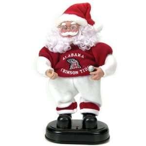 Alabama Crimson Tide Animated Rock and Roll Santa