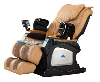 BRAND NEW BEAUTYHEALTH BC 07D SHIATSU RECLINER MASSAGE CHAIR w/Jade