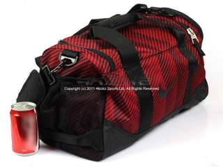 Nike Misc (Unisex) Team Training Duffle Gym Bag Black/Red BA3118 640