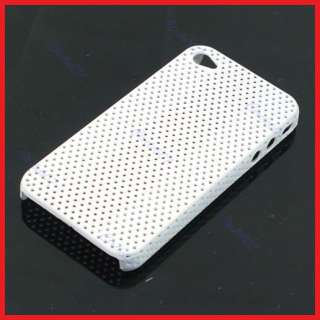 Hole Air Vent Slim Back Hard Cover Case Skin for Apple Iphone 4G
