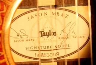 Taylor Jason Mraz Signature Model Nylon string acoustic/electric