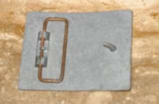 Vintage Budweiser Silver Metal Belt Buckle