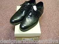 Haan Lunar Toledo Black Plain Ox Leather Dress Shoes Size 11 M