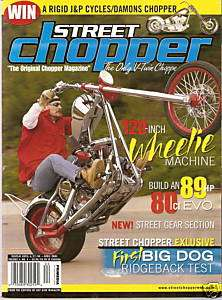 STREET CHOPPER April 2004 BIKER Custom BOBBER Magazine