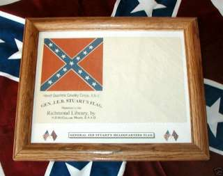 Confederate Flag, Civil War Flag..General Jeb Stuart