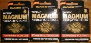 Trojan Magnum VIBRATING RING Powerful Pleasure