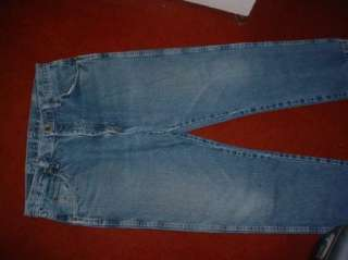WRANGLER JEANS MENS SZ SAY 36x30 BUT ARE 35x29 COMFY