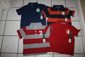 NWT Boys FADED GLORY Polo Jersey ~Var Colors~ Inf & Tod