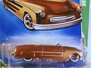 2009 Hot Wheels TREASURE HUNT 49 MERC 1949 MERCURY