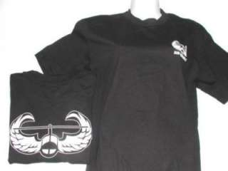 US ARMY AIR ASSAULT T SHIRT BLACK SELECT SIZE