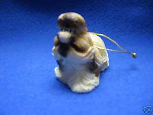 Encore Shih Tzu dog ornament Santa Paws