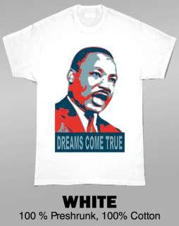 Martin Luther King Jr Dreams Obama Parody T Shirt