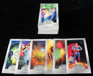 1994 Skybox Superman Man of Steel Platinum Series Premium Set (90) NM