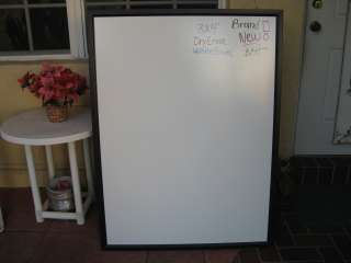 x2) Brand New Large Dry Erase White Marker Boards   WhiteBoard