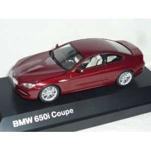 6er 6 er 650i F13 AB 2011 COUPE ROT 1/43 BMW MODELL AUTO MODELLAUTO