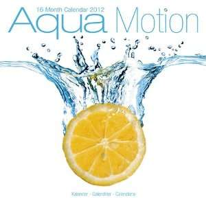Kalender 2012 Aqua Motion   Früchte im Wasser  Bücher
