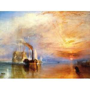 Joseph William Turner   Die Kämpfende Temeraire, 1839 Poster