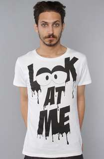 Joyrich The Look At Me Tee in White  Karmaloop   Global Concrete