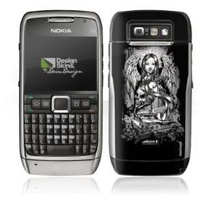 Design Skins für Nokia E71   Joker   Lost Angel Design
