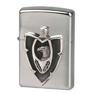 Original Zippo Feuerzeug Emblem Silver Arrow  Garten