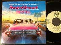 Presley   Hearbreak hoel   RCA 45 RPM Record   Whie label promo