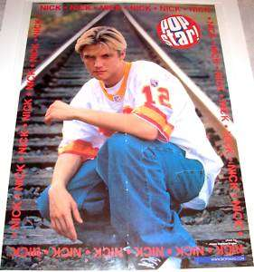 NICK CARTER BACKSTREET BOYS 5IVE SCOTT ROBINSON POSTERS