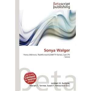 Sonya Walger [Englisch] [Taschenbuch]