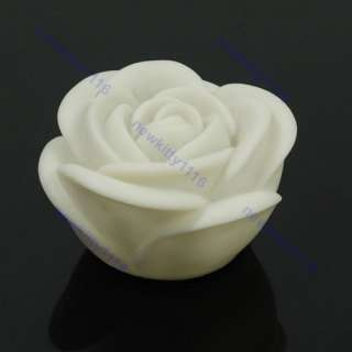New Changing 7 Color LED Rose Flower Candle Party Light