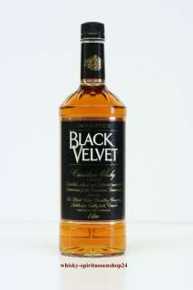 BLACK VELVET CANADIAN WHISKY 40%VOL.1,0L