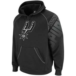 San Antonio Spurs Adidas NBA Hoops Hooded Sweatshirt sz Small
