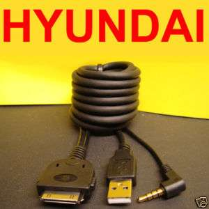HYUNDAI 08620 2L000 iPOD iPHONE USB 3.5MM INPIT CABLE